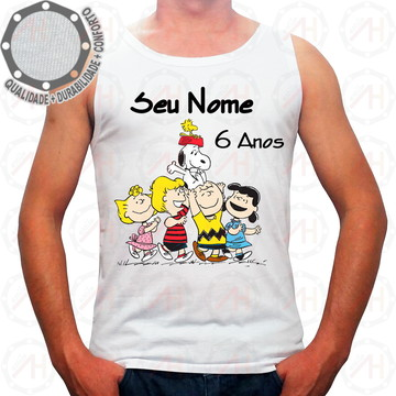 Camiseta Snoopy Personagens