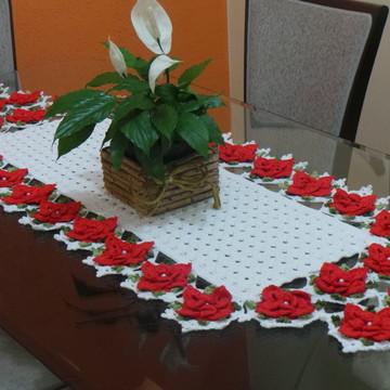 Caminho de mesa flor estrela