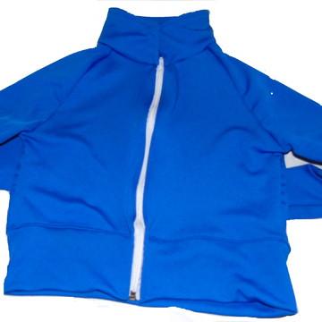 kit Uniforme escolar infantil lisa jaqueta