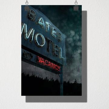 Poster A4 Bates Motel