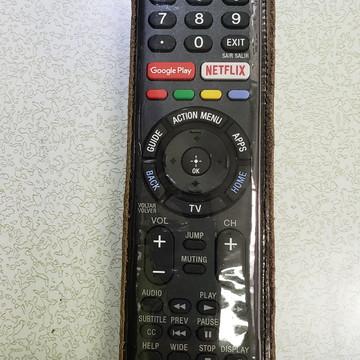 Capa de Controle Remoto TV Sony em Couro