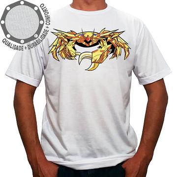 Camiseta Os Cavaleiros do Zodíaco Câncer
