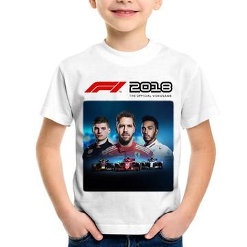 Camiseta Infantil F1 2018