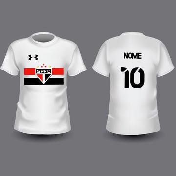 Camiseta Infantil São Paulo Personalizada
