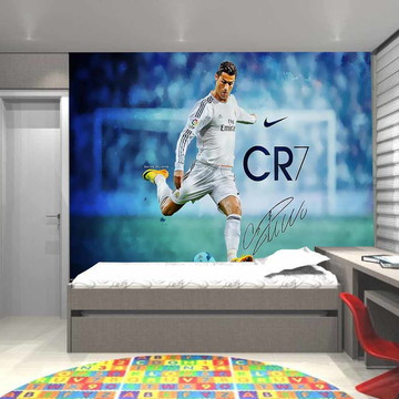 adesivo de parede cr7