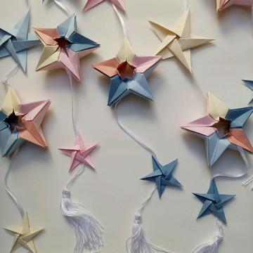Móbile Estrelas   Decoração   Lembrancinha