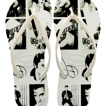 Chinelos Havaianas Slin Personalizados Elvis