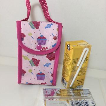 Mini Lancheira Térmica - Lunch Bag