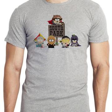 camiseta blusa south park super herois desenho