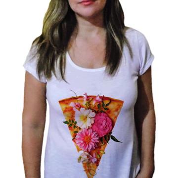 Camiseta Feminina Dieta romântica - 21 camiseteria