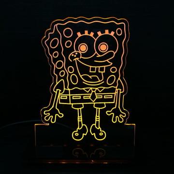 Luminária Infantil Bob Esponja
