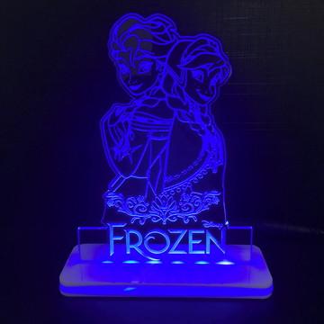 Luminária Infantil Frozen