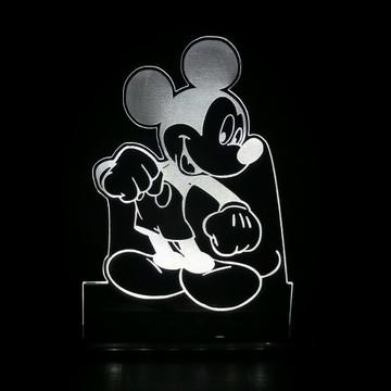Luminária Infantil Mickey ou Minnie