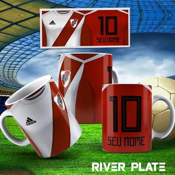 Caneca Personalizada Do Time River Plate