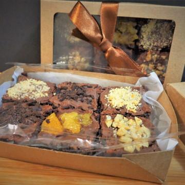 Lembrança de brownie com 6 brownies