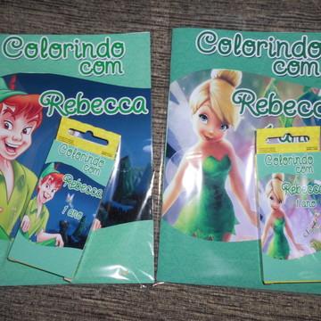 Kit colorir colorir Sininho
