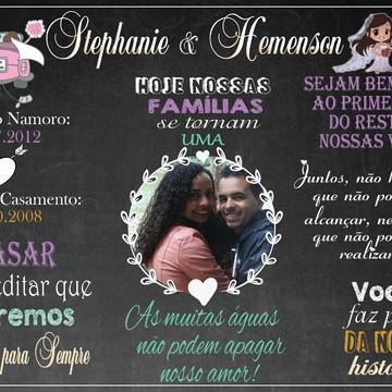 Chalkboard Casamento