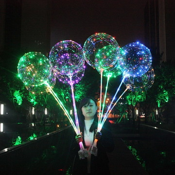 kit 5 baloes led 18 pol. completo (PROMOÇÃO)