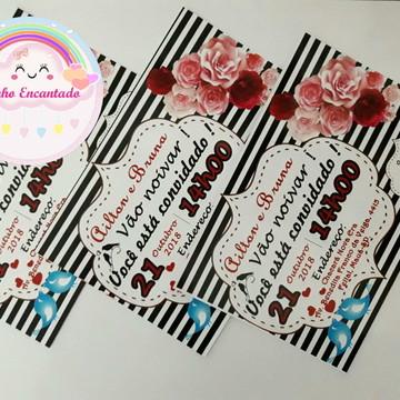 40 Convites de noivado