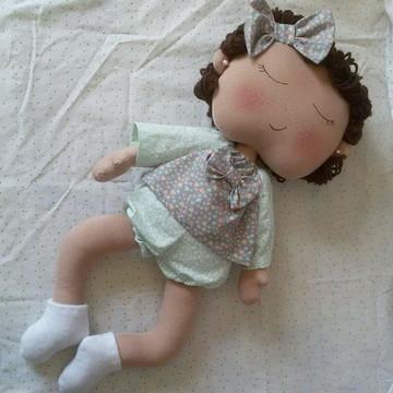 Bebê Soneca (boneca de pano)