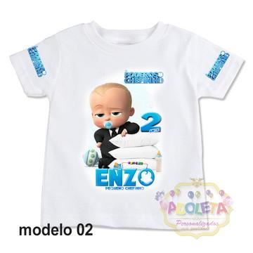 camiseta personalizada poderoso chefinho mod 02
