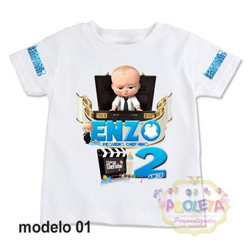 camiseta personalizada poderoso chefinho mod 01
