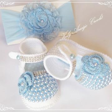 Kit Customizado em Crochê para Bebês