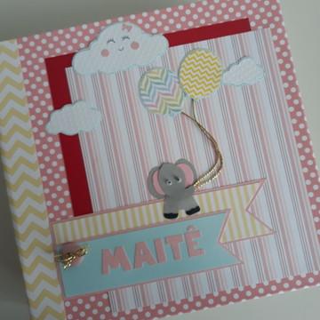 Álbum Bebê Elefante