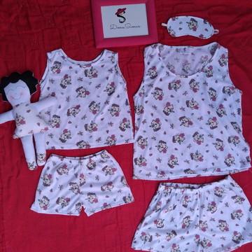 Pijama tal mãe e tal filha
