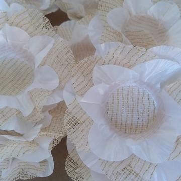Forminha para doces flor devilla