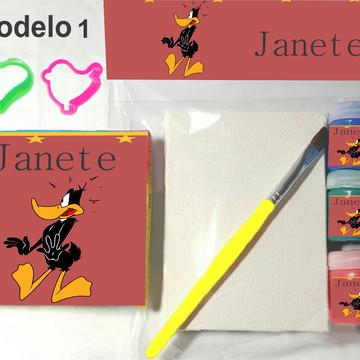 Kit massinha e pintura-Patolino