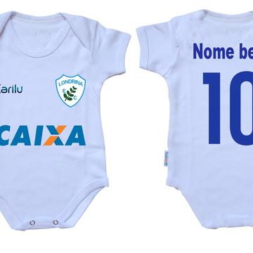 Body bebê time de futebol Londrina