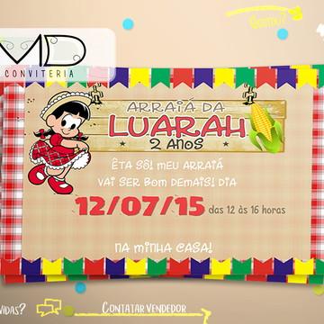 Convites Festa Arraiá s/ env