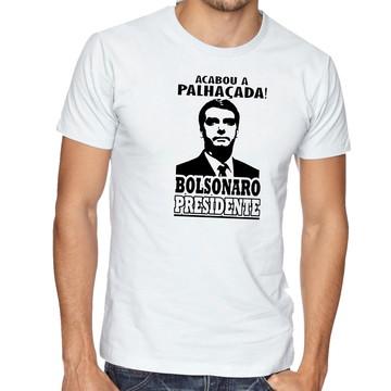 camiseta blusa Bolsonaro acabou a palhaçada