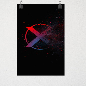 Poster A4 X-man