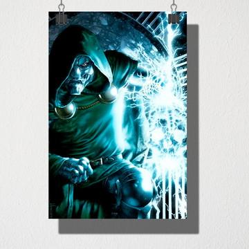 Poster A4 Doutor Destino