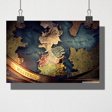 Poster A4 Mapa