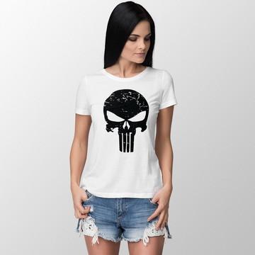 2343638f6b Camiseta Feminina Basica Justiceiro