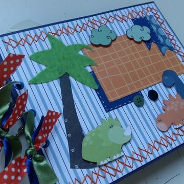 Álbum Scrapbook Dinossauros