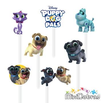 Tag no Palito Puppy Dog Pals