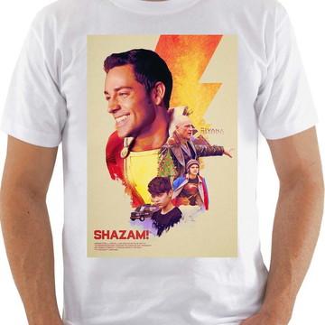 Camiseta Shazam Filme