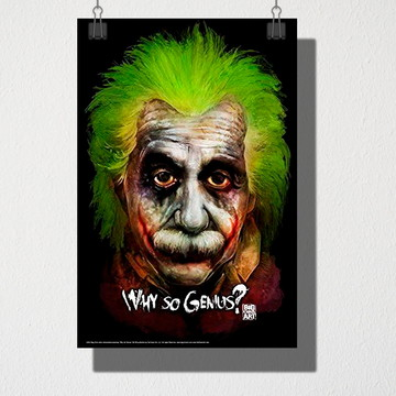 Poster A4 Why so Genius?