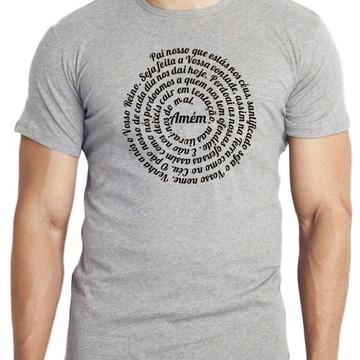 13075be6e camiseta blusa Pai Nosso oração JESUS CRISTO DEUS