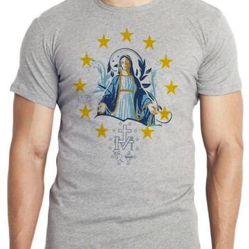 camiseta blusa Nossa Senhora das Graças santa JESUS Mãe