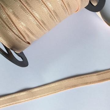 Elástico Pêssego Zanotti 12mm (1 metro)