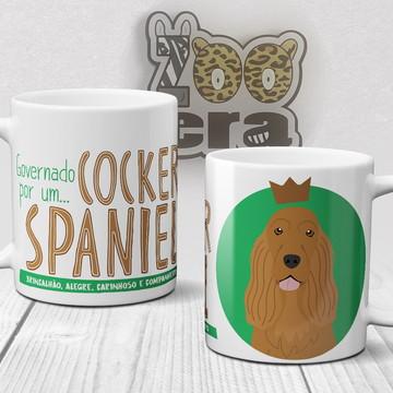 Cocker Spaniel - Caneca de Porcelana de Cachorro