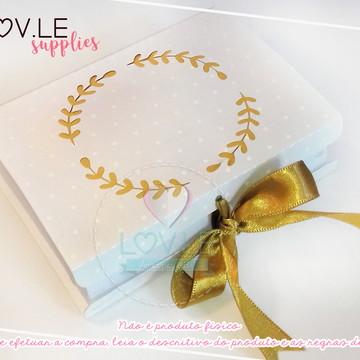 Arquivo de Corte Caixa Convite Moldura Luxo Padrinhos