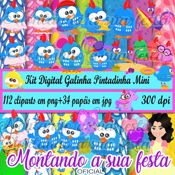 Kit Digital Galinha Pintadinha Mini
