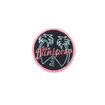 Patch Bordado Termocolante San Junipero - Black Mirror