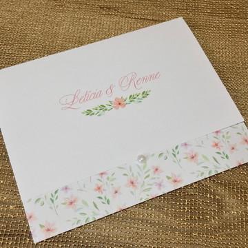PROMOÇÃO! Convite de Casamento Barato